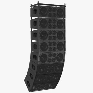 real speaker 3D model