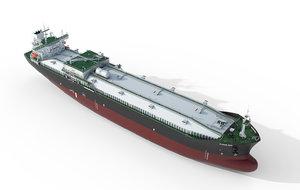 vessel tanker 3D model