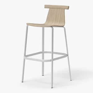 modern bar stool chairs 3D