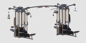gym hoist cmj 6000 3D model