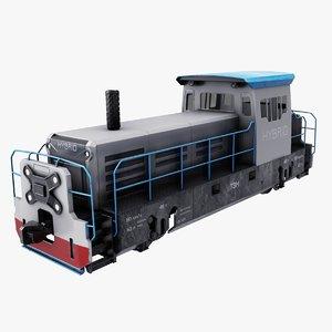 3D hybrid train model