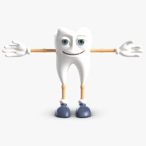 tooth boy character fbx