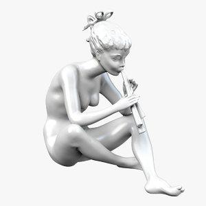 3D statue female
