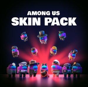 3D pack skins
