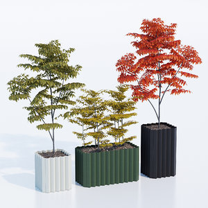 3D planter model