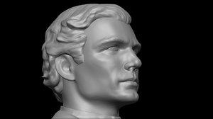 3D actor henry cavill