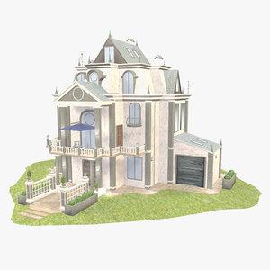 3D luxury - model