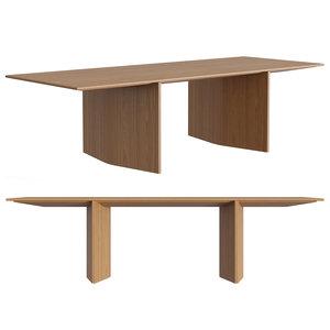 3D molteni ava table model