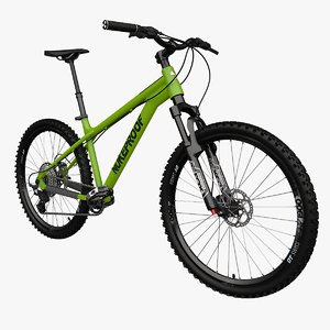 enduro hardtail 3D model