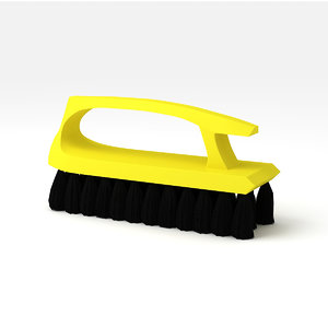 3D cleaning brush
