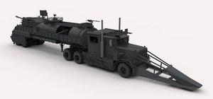 dreadnought military truck model