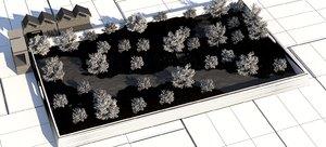 nordic miniature landscape 2020 3D model