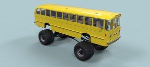 bus monster 3D