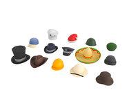 Hat and Helmet Pack 1