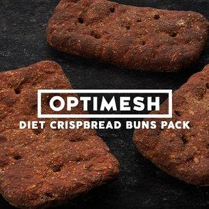3D model diet crispbreads pack