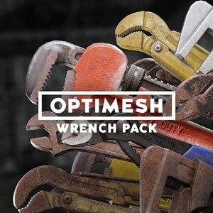 3D wrench tools pack