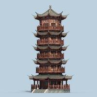 Chinese Pagoda 02