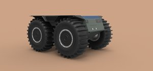 sherp chassis 3D model