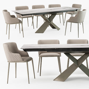 3D tyron table magda ml