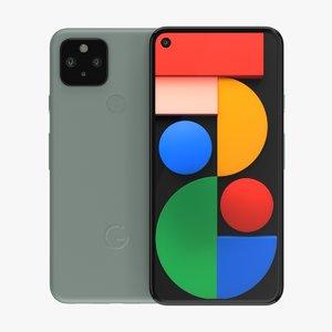 google pixel 5 sorta 3D model