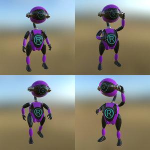 3D robot pbr pose