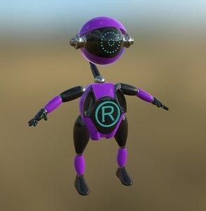 3D robot pbr