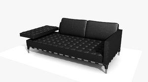 3D mies sevilla sofa