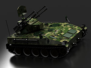 3D tanks anti-aircraft guns radar