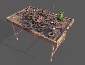gear workbench 3D model