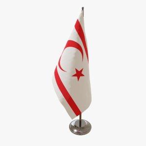 3D table flag turkish republic