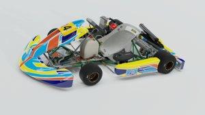 tony kart 125 3D model