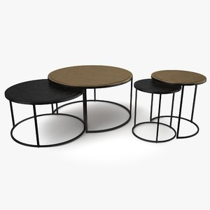 knurl coffee table model