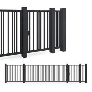 door gates 3D model