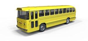 3D bus school