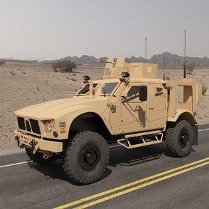 mrap military vehicle v5 3D model