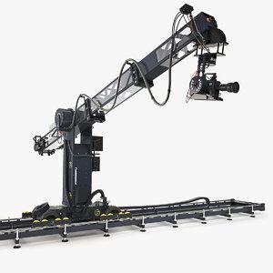 3D technodolly camera crane model