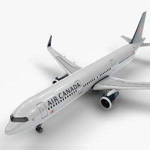 a321 neo air canada 3D model