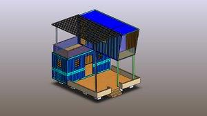 3D model solidwork revit