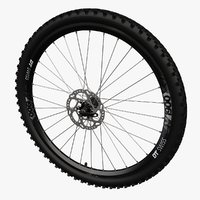 Bicycle MTB Front Wheel 01