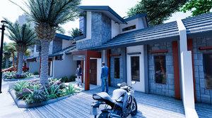 3D model housing type