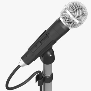 real microphone 3D