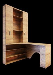 3D model office table