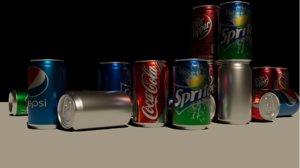 3D soft drink