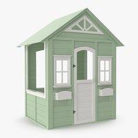 Green Children House 3D Model