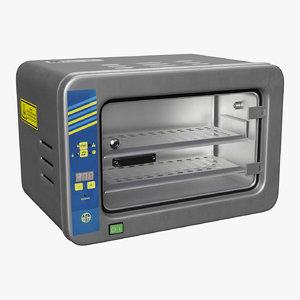 3D model medical heating cabinet