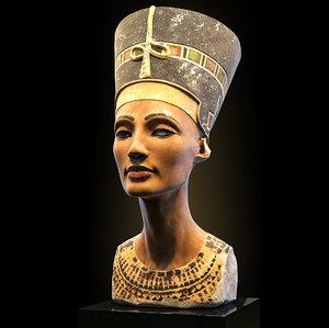 queen nefertiti 3D model