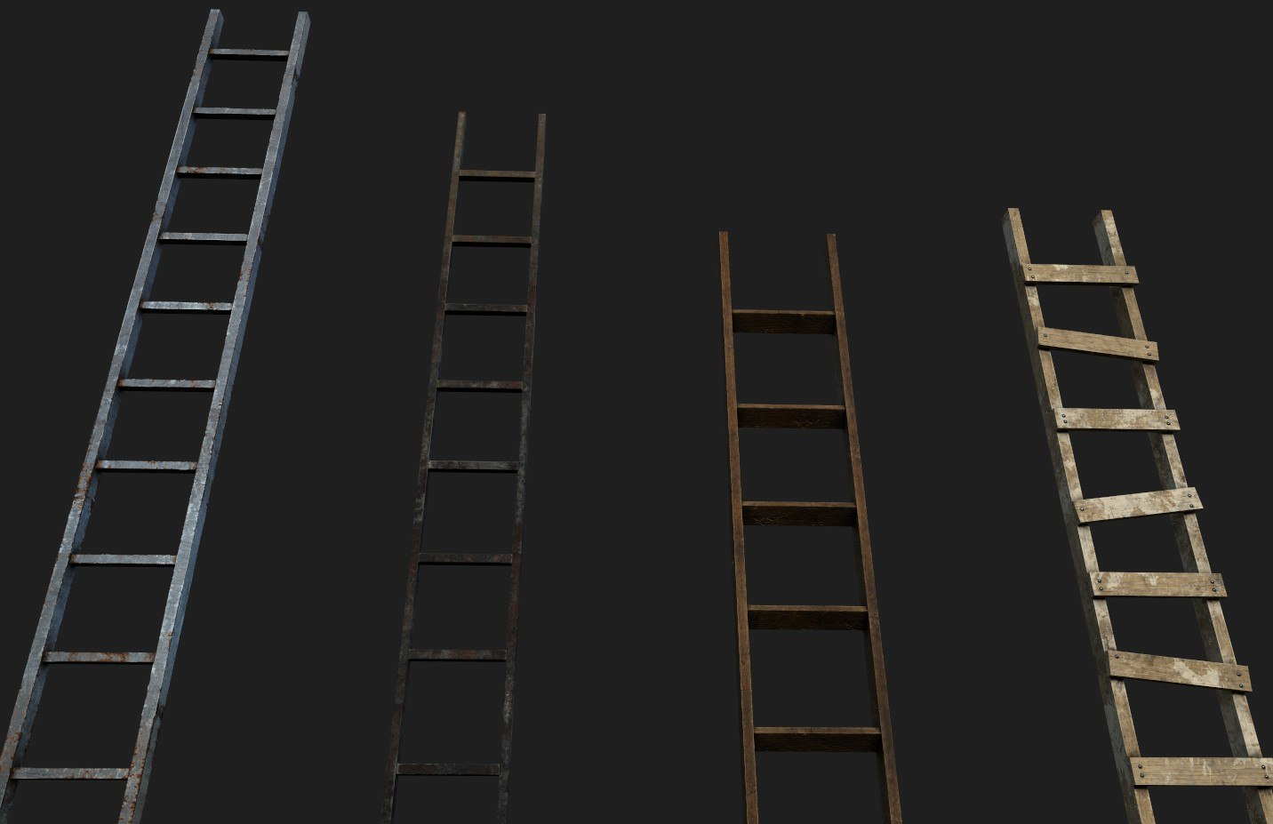 ladders ready games 3D