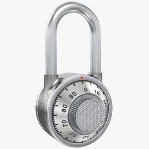 combination lock model