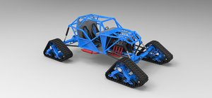 3D model buggy tracked