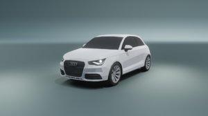 3D model audi a1 coupe